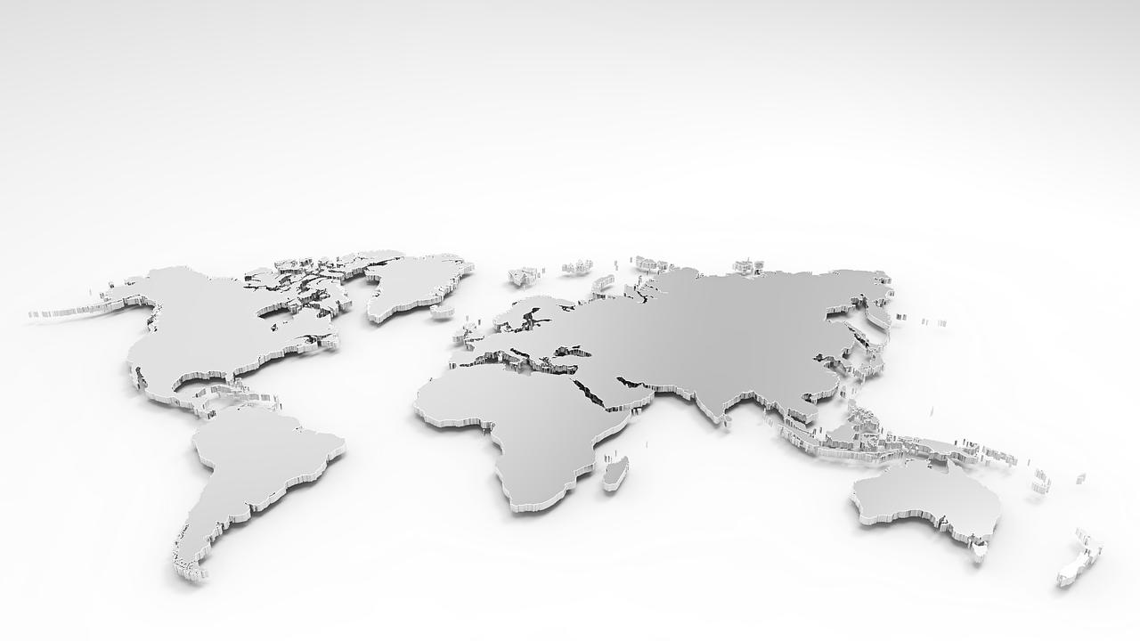 3d model, world, earth